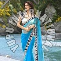 Bollywood Designer Blue Saree