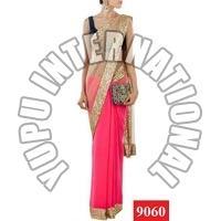 Manish Malhotra Designer Pink Saree