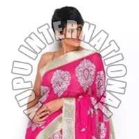 Mandira Life Style Pink Saree