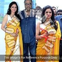 Bollywood Saree Shreedevi Yellow Saree
