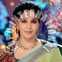 Madhuri Bollywood Saree