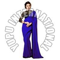 Manish Malhotra Designer Saree Spark Blue