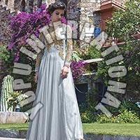 Silver Fancy Gown