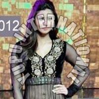 Daisy Shah With Heavy Dress