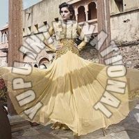 Beige Fashion gown