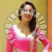 Madhuri Pink Anarkali With Hand Work