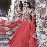 Fancy Red Gown