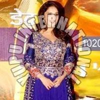 Bollywood Replica Of Madhuri Blue