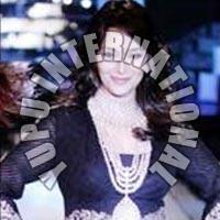 Madhuri Black Beauty Georgette