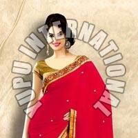 Red Saree Fashion
