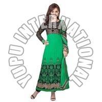 Neha Green Anarkali Suit