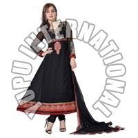 Neha Black Anarkali Suit