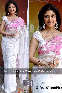 Plain Designer Saree 20
