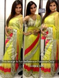 Plain Designer Saree 43