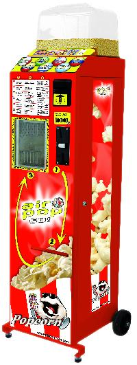 Air Pop Go Popcorn Vending Machine