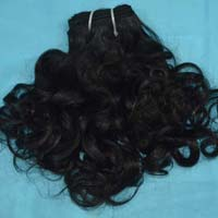 10'' Curly Machine weft 3.5 ounce