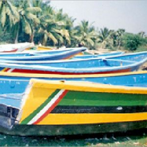 Fibre fishing boats