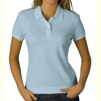 Ladies Knitted Polo T-Shirt