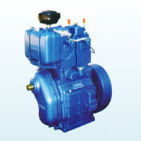 High Speed Double Cylinder Water Cooled Diesel Engine