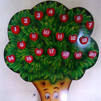 Alphabet and Number Tree