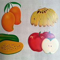 Fruit Set With Wall Hanging Facility