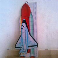 Height Chart - Rocket