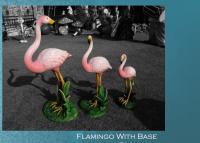 Item Code : SI-10 Flamingo with Base