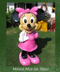 Minnie Mouse Sculpture