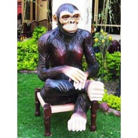 Monkey Sculptures