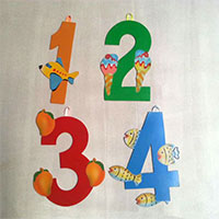 Number With Pictures And Wall Hanging Facility