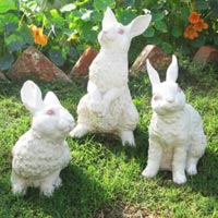 Rabbit Sculptures