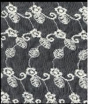 Embroidered Mesh Fabric 02