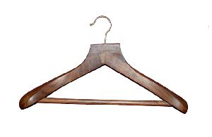 Natural Wooden Coat-Suit Hanger