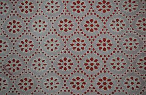 Schiffli Embroidered Fabric 07