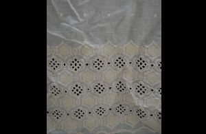 Schiffli Embroidered Palazzo Fabric 08
