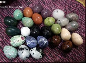 Assorted Gemstone Eggs