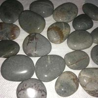 Grey Flat River Pebbles