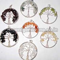 Metal Flower Pendants