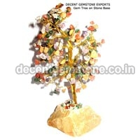 Stone Base Gemstone Tree