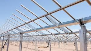 Solar Module Mounting Structure 01
