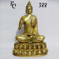 Brass Buddha Statue 01