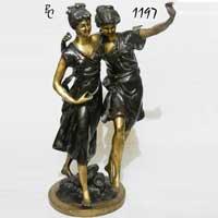 Brass European Figures 03