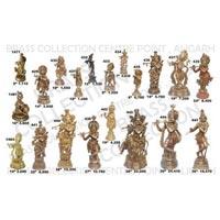 Brass Krishna Statue 02
