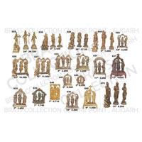 Brass Ram Darbar Statue