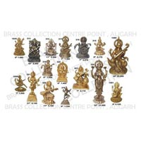 Brass Saraswati Statue 02