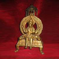 Narsingh Brass Statue