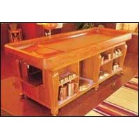 Open Shelf Dhroni Table (Model - 6)