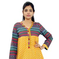 Design No. FS-514 Yellow Kali