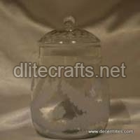 Clear Glass Jar & Canister