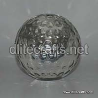 Clear Glass Paper Weight